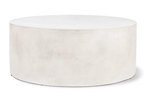 SEASONAL LIVING GRAND LOUIE COFFEE TABLE - SLATE IVORY WHITE