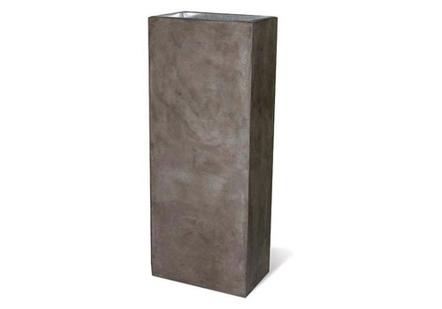 SEASONAL LIVING PERPETUAL COLUMN PLANTER - SLATE GRAY