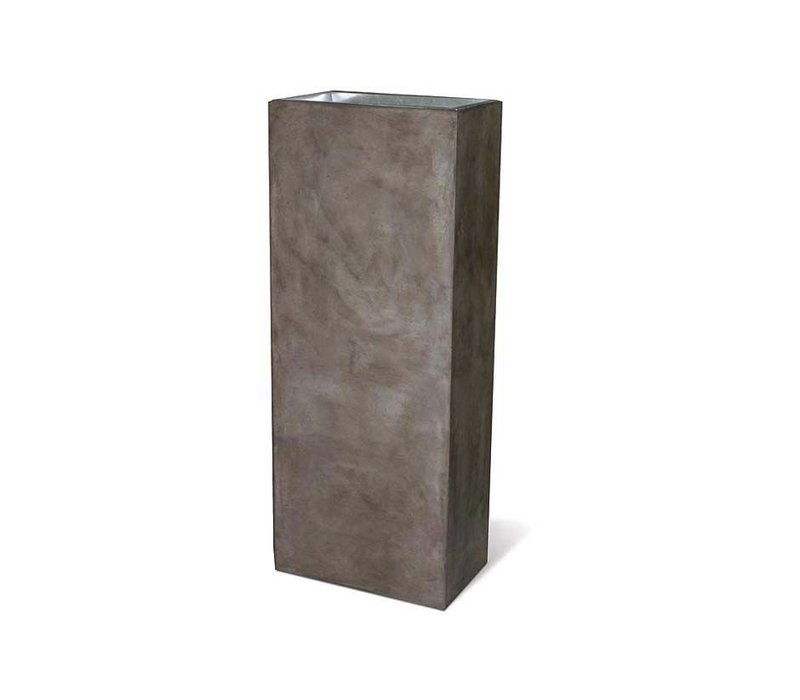 PERPETUAL COLUMN PLANTER - SLATE GRAY