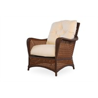 GRAND TRAVERSE LOUNGE CHAIR WITH GRADE A FABRIC / SELF WELT
