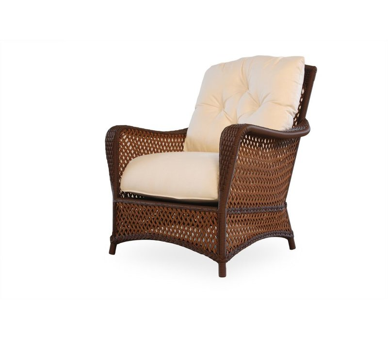 GRAND TRAVERSE LOUNGE CHAIR WITH GRADE A CUSHON AND SELF WELT