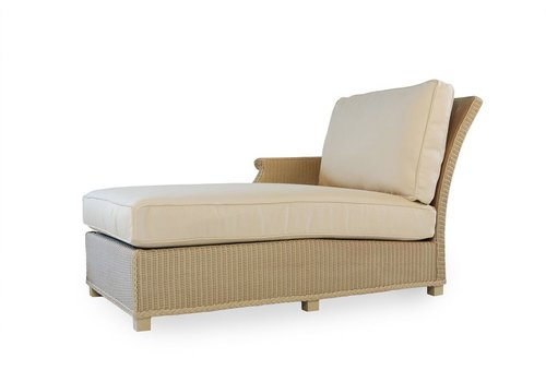 LLOYD FLANDERS HAMPTONS RIGHT ARM CHAISE WITH GRADE B FABRIC / SELF WELT