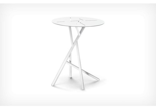 DEDON MANGROVE SIDE TABLE - PURE WHITE