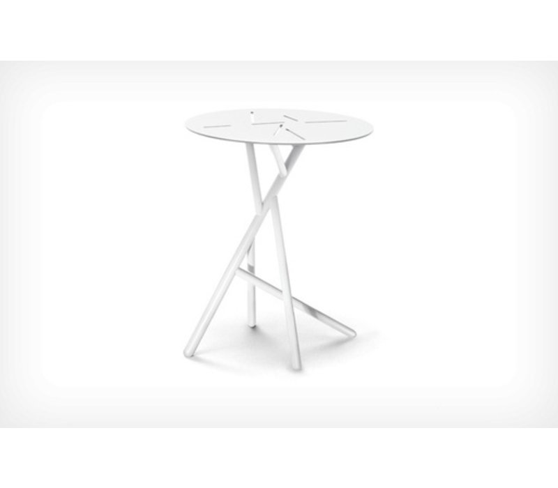 MANGROVE SIDE TABLE IN PURE WHITE