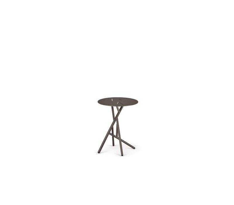 MANGROVE SIDE TABLE - BLACK PEPPER
