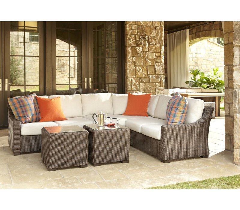 MESA CORNER SECTIONAL WITH CUSHIONS