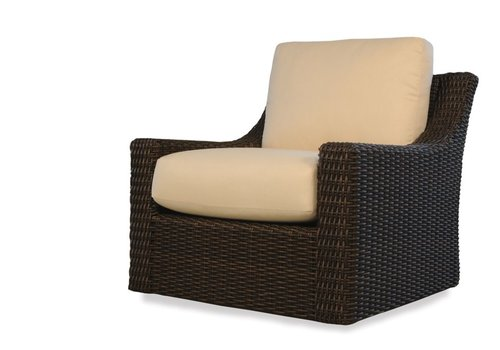 LLOYD FLANDERS MESA LOUNGE GLIDER WITH GRADE A FABRIC / NO WELT