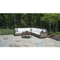CORAL SECTIONAL LEFT SEAT WITH C GRADE CUSHION