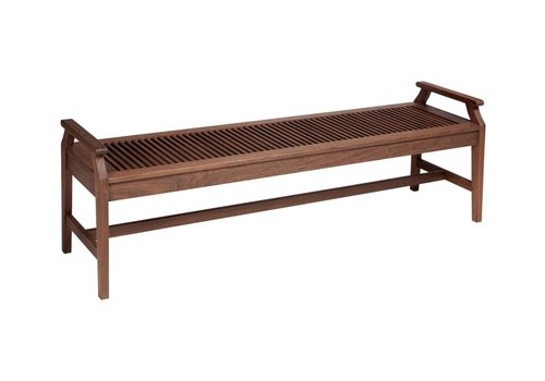 JENSEN LEISURE FURNITURE OPAL 6' BENCH WITH ARMS