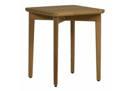SUMMER CLASSICS WOODLAWN END TABLE - NATURAL TEAK