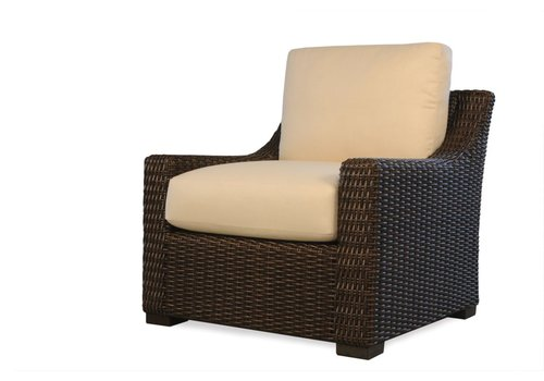 LLOYD FLANDERS MESA LOUNGE CHAIR WITH GRADE B FABRIC / NO WELT