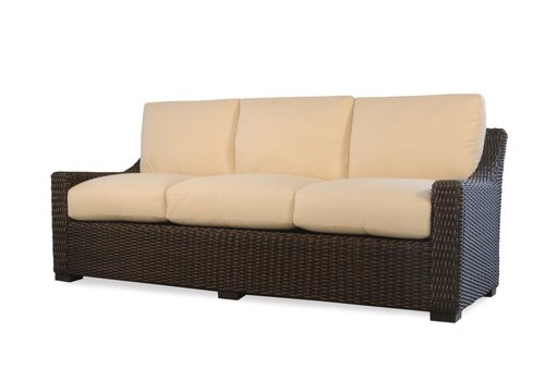 LLOYD FLANDERS MESA SOFA WITH CUSHIONS WITH GRADE A FABRIC / NO WELT