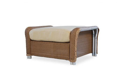 LLOYD FLANDERS REFLECTIONS OTTOMAN WITH GRADE A FABRIC