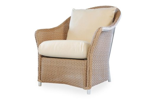 LLOYD FLANDERS WEEKEND RETREAT LOUNGE CHAIR WITH MINI RANDOM WEAVE / GRADE A FABRIC