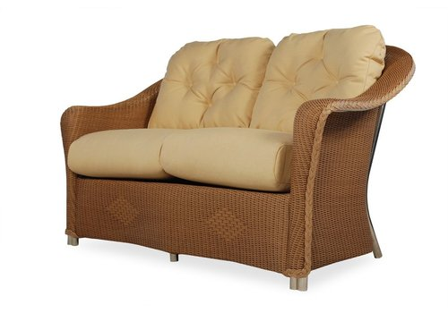 LLOYD FLANDERS REFLECTIONS LOVE SEAT WITH GRADE A FABRIC
