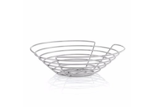 BLOMUS WIRES MEDIUM ROUND FRUIT BASKET