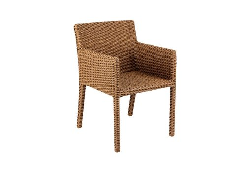 ROYAL BOTANIA ABONDO 53 DINING ARM CHAIR - OPTIONAL SEAT CUSHION SOLD SEPARATELY