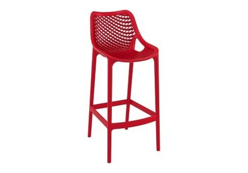 SIESTA AIR BAR STOOL IN RED