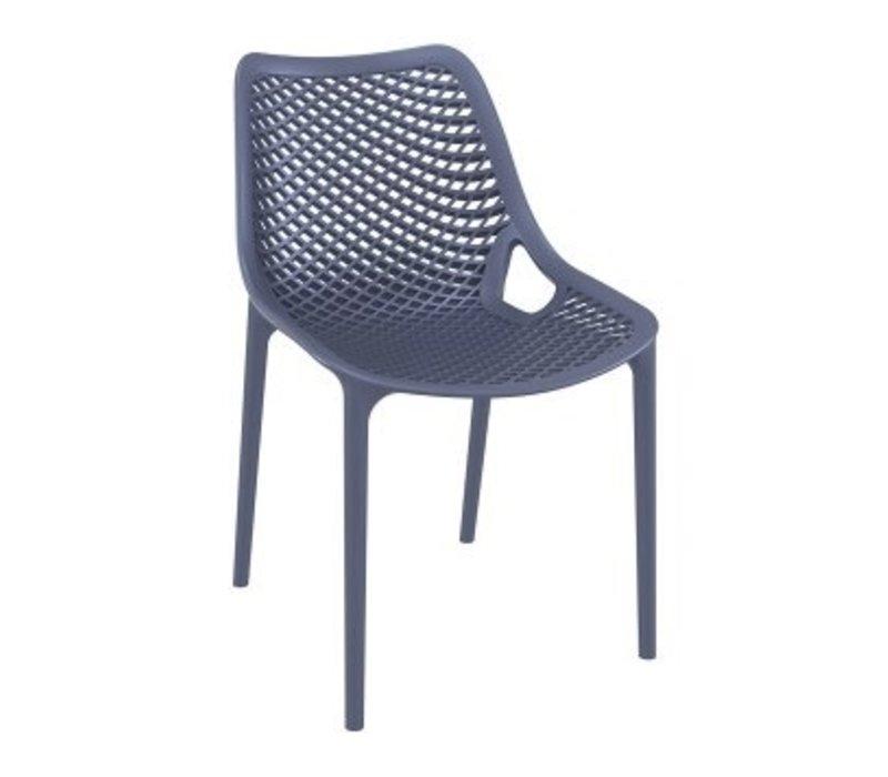 siesta air dining side chair dark grey kolo collection rh kolocollection com siesta garden furniture turkey siesta outdoor furniture gallery