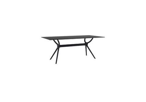 SIESTA AIR RECTANGULAR TABLE 71x 35 INCH - BLACK