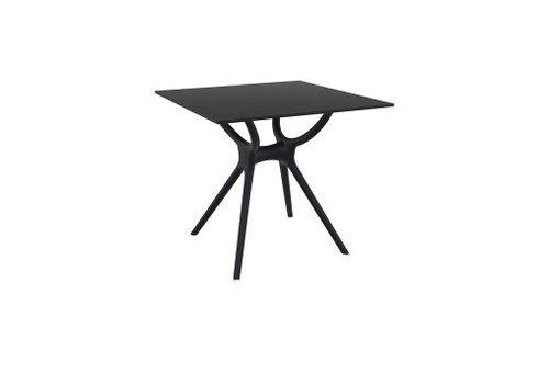 SIESTA AIR SQUARE TABLE - BLACK
