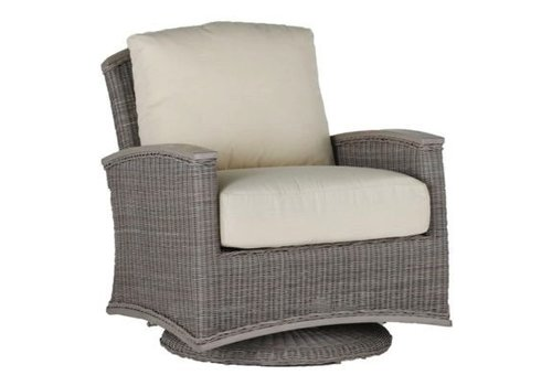 SUMMER CLASSICS ASTORIA SWIVEL GLIDER - OYSTER WEAVE