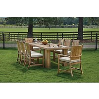 CROQUET TEAK SIDE CHAIR - NATURAL