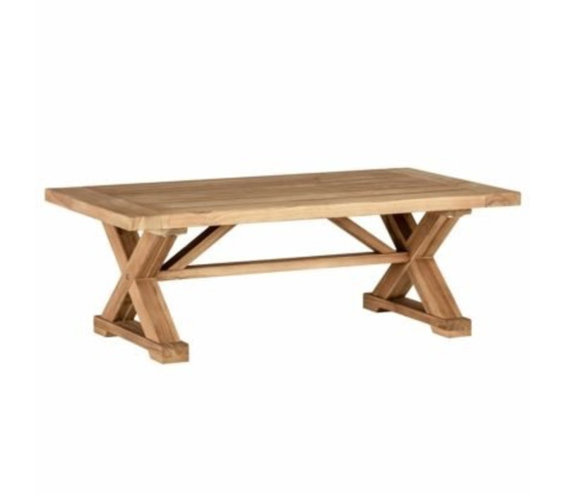 SUMMER CLASSICS MODENA COFFEE TABLE   NATURAL TEAK