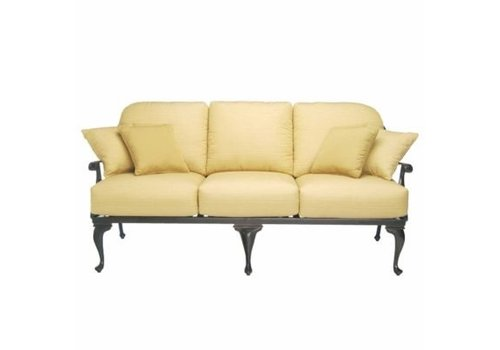 SUMMER CLASSICS PROVANCE SOFA IN ANCIENT EARTH FINISH
