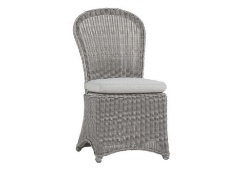 SUMMER CLASSICS REGENT SIDE CHAIR - OYSTER FINISH