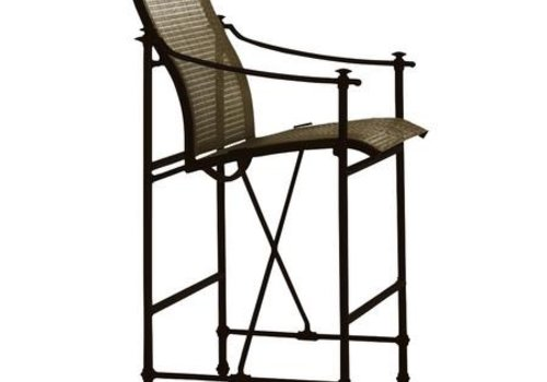 BROWN JORDAN CAMPAIGN SLING BAR CHAIR WITH GRADE A SLING