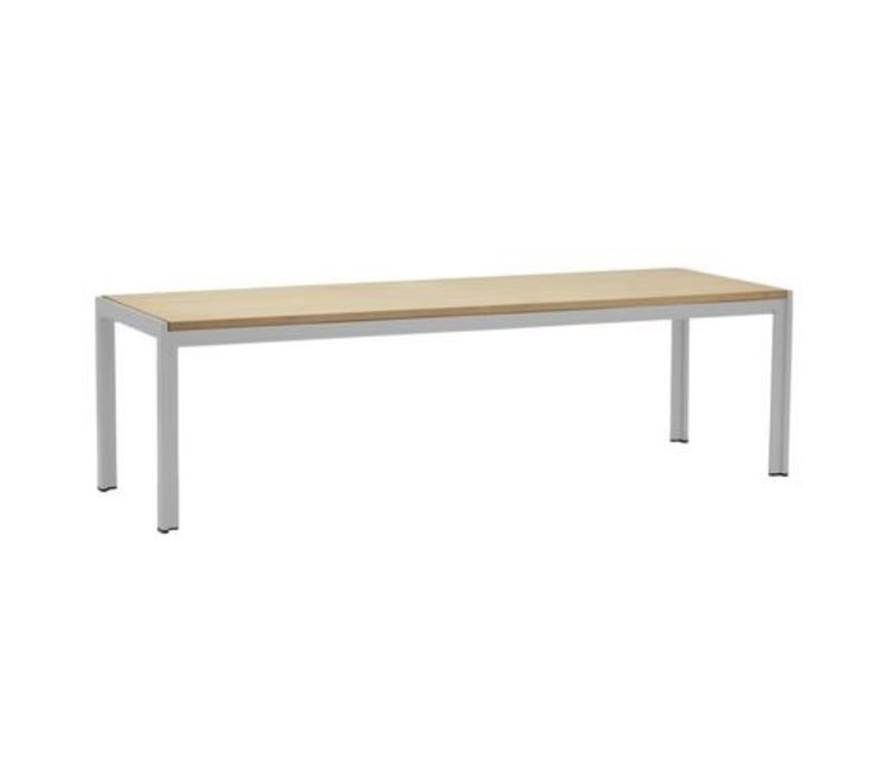 ELEMENTS 60 INCH BENCH WITH MOCA RESINWOOD SEAT