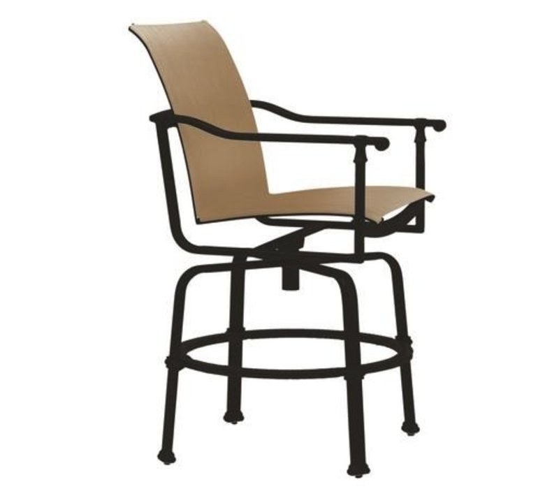 FREEMONT SLING SWIVEL BALCONY CHAIR WITH GRADE A SLING
