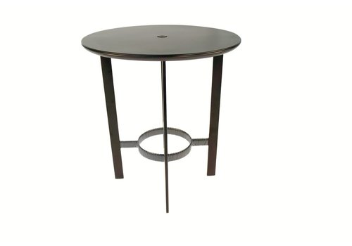 BROWN JORDAN PARKWAY 36 BAR TABLE WITH SOLID ALUMINUM TOP