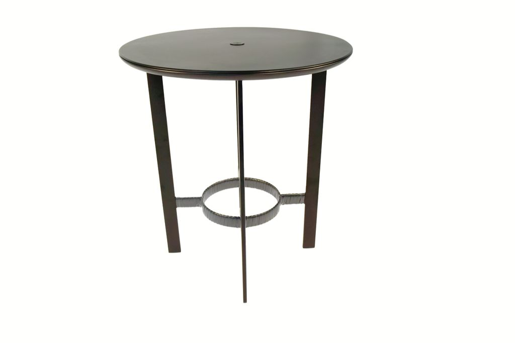 Brown Jordan Parkway 36 Bar Table With Solid Aluminum Top Kolo Collection
