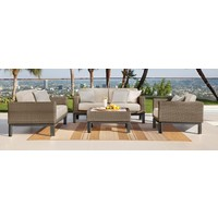 IL VIALE LOVESEAT WITH GRADE A FABRIC