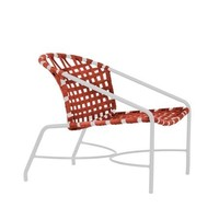 KANTAN ALUMINUM LOUNGE CHAIR WITH SUN CLOTH STRAP
