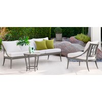 LUNA LOUNGE CHAIR WITH LOOSE CUSHION IN GRADE A FABRIC