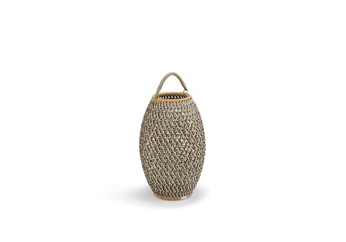 DEDON DALA LANTERN 13D x 18.5H IN COLOR STONE