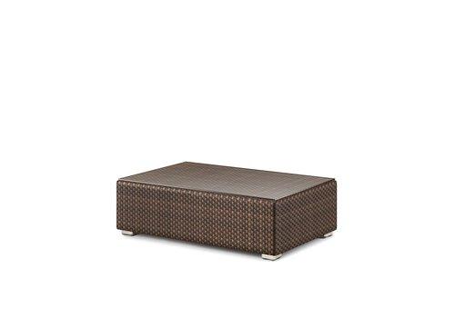 DEDON LOUNGE 26X43 FOOTSTOOL/COFFEE TABLE IN JAVA