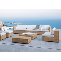 LOUNGE 43 SQ COFFEE TABLE/FOOTSTOOL IN JAVA