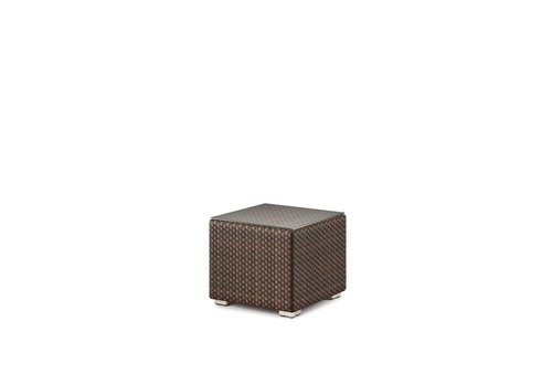 DEDON LOUNGE SIDE TABLE/STOOL IN JAVA
