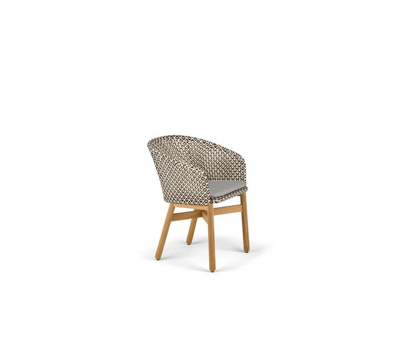 MBRACE DINING ARMCHAIR IN PEPPER