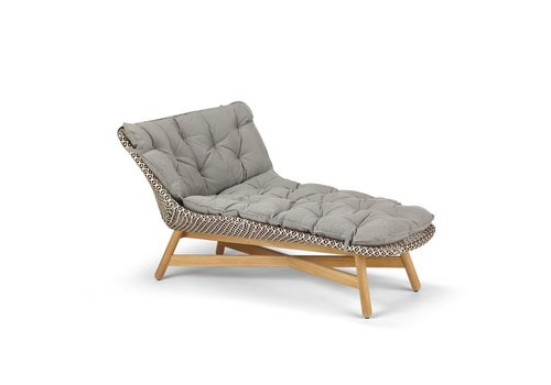 DEDON MBRACE DAYBED IN PEPPER WEAVE