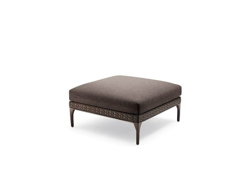 DEDON MU 36 SQUARE FOOTSTOOL/COFFEE TABLE IN VULCANO