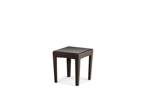 DEDON PANAMA SIDE TABLE IN BRONZE