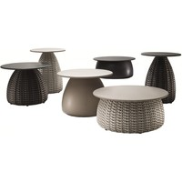 PORCINI 20D x 16H SIDE TABLE IN CARRARA