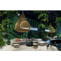 PORCINI 39D x 10H COFFEE TABLE IN MARRONE