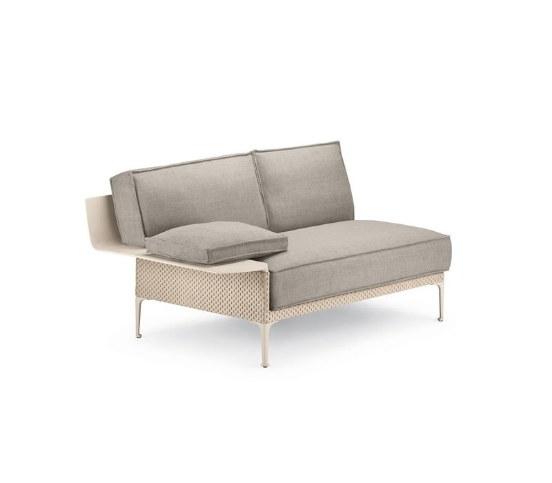 RAYN SECTIONAL RIGHT MODULE WITH ARMREST IN SALINA COLOR WEAVE