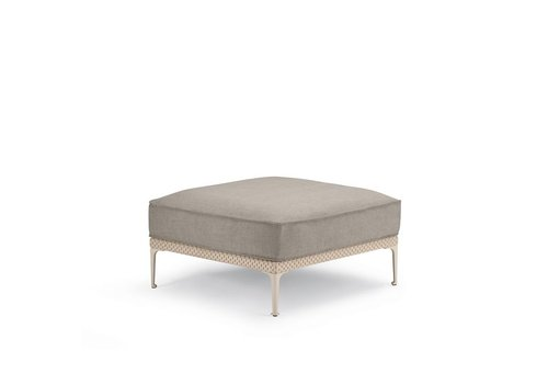 DEDON RAYN 35x35 FOOTSTOOL IN SALINA COLOR WEAVE
